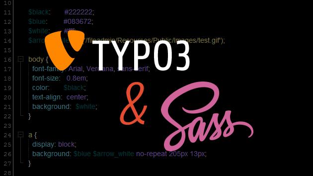 TYPO3 & Sass (SCSS)